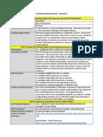 teaching portfolio rationale - standard 6 - sub 6