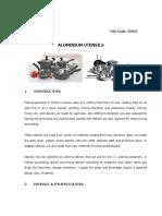Aluminium Utnsils