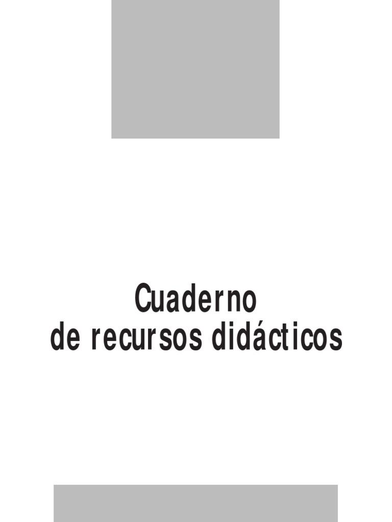 Cuaderno de Recursos Didacticos