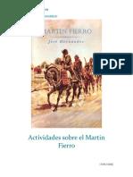 Actividades Sobre El Martin Fierro