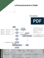 Dimensionamento a Flexão - Exemplo