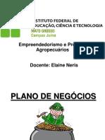 Slides Plano de Negócio