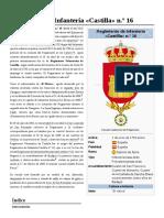 Regimiento de Infantería «Castilla» n.º 16