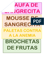 RECETAS CONTRA LA ANEMIA