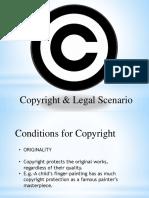 Copyright & Legal Scenario