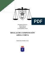 Reglamento Arma Corta IPSC 2019.pdf