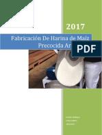 Harina de Maiz Artesanal