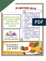 Plan Lector 2018 -Corregido