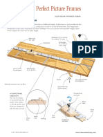 Picture Frame Miter Sled Plan