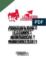 Prog Marco IU Autonomicas Municipales 2019.Docx 0