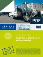 Civitas II Policy Advice Notes 05 Logistics Es