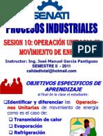 2011 - II - Sesion 10 - Movimiento de Energia1