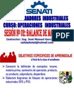 2016 - II - Oi - Sesion 02 - Balance de Materiales i