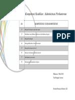 sertifikat Kompetensi Keahlian administrasi perkantoran