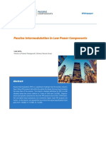 Microlab Passive Intermodulation in Low Power Components WP