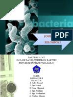 Powerpoint Bakteriologi Kel.1