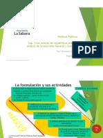 Presentación sobre los actores de las políticas y el análisis de involucrados 2019