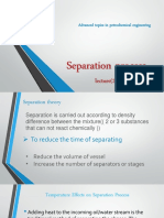 Separation Lecture 2