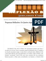 REFLEXÃO BÍBLICA_ Pequenas Reflexões_ Os Quatro Aspectos da Salvação.pdf