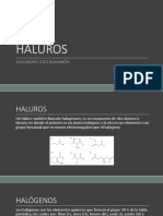 Halogenuros