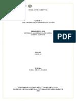 Unida 3 Fase 4 Modelacion Ambiental en Accion