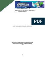 """Evidencia 10 Estudio de Caso """"Riesgo de Rechazo a Exportaciones"""""""