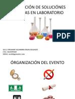 Preparación de Soluciónes Químicas en Laboratorio
