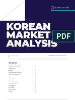 Korean Crypto Market Analysis