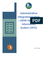 Denr Dpis User Guide