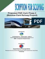 PDS PNR Clark Phase 2 Malolos Clark Railway Project