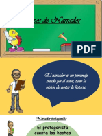 Tipos de Narrador