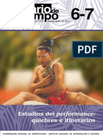 Performances  y antropología