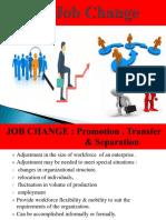 Promotion,Transfer & Separation