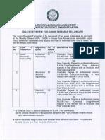 DRDO Engineers Recruitment Notice 26 04