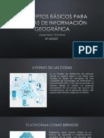 Conceptos Básicos Para Sistemas de Información Geográfica
