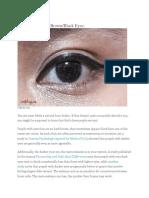 Eye Color Perosnality Test