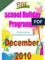 December 2010 School Holiday Pos