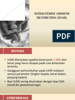 Intrauterine Growth Restriction (Iugr)
