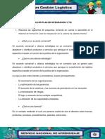 Evidencia 3 Taller Plan de Integración y Tic