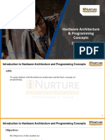 Introduction to Hardware Architectures
