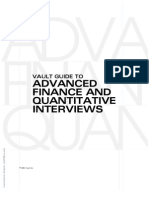 Quant Finance Interviews