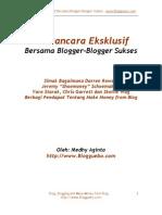 E-book Seri Wawancara Eksklusif Blogguebo