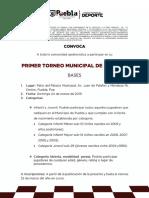 Convocatoria Torneo Municipal de Ajedrez