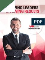 UOB MBA Brochure