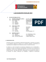 Plan Municipio Escolar 2019