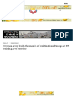 German Army Leads Thousands of Multinational Troops at US Training Area Exercise - News - Stripes