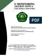 Buku Monitoring Prakerin Multimedia