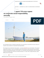 CSR Report-HUL Spent 116 Crore Rupees on Corporate Social Responsibility Annually