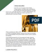 Gustavo Diaz Ordaz Bolaños Periodico