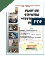 Plan de Tutoria Inst. - Mpu - Bella 2017